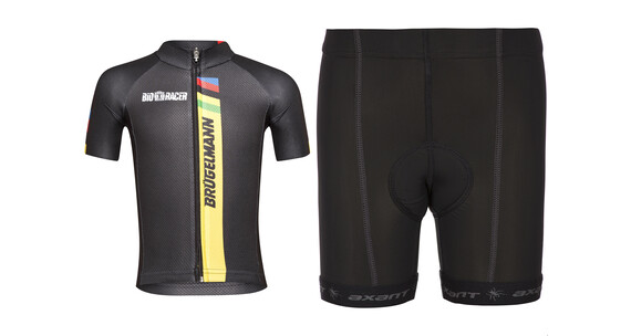 Brügelmann Bioracer Pro Race Set Kids black